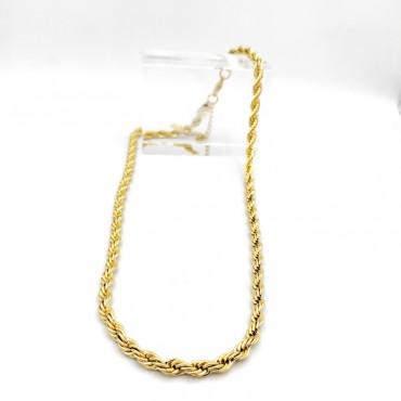 σκουλαρίκι piercing segment κρίκος από χειρουργικό ατσάλι χρυσό 1.2mm x 8mm 13