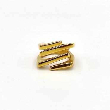 δαχτυλίδι ασήμι 925 ρόδιο βεράκι με λευκά ζιργκόν 11