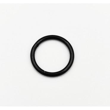 σκουλαρίκι piercing segment κρίκος από χειρουργικό ατσάλι 1.2mm x 12mm 12