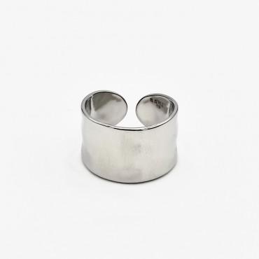 σκουλαρίκι piercing segment κρίκος από χειρουργικό ατσάλι 1.2mm x 12mm 14