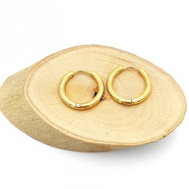 δαχτυλίδι από χειρουργικό ατσάλι με λευκά στρας 19