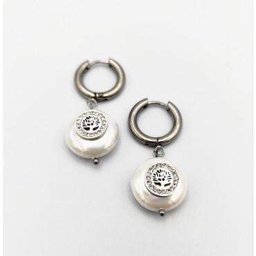 σκουλαρίκι piercing segment κρίκος από χειρουργικό ατσάλι 1.2mm x 10mm 16