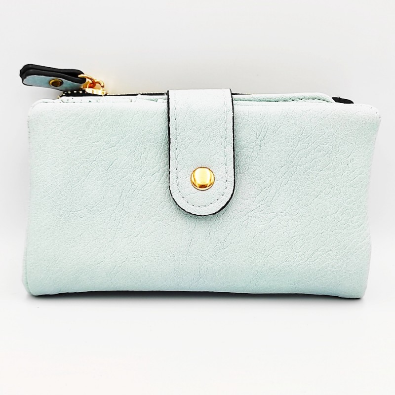 πορτοφόλι γυναικείο δερματίνη light blue 7