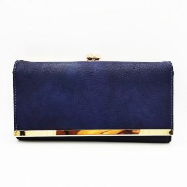 πορτοφόλι γυναικείο δερματίνη light blue 11