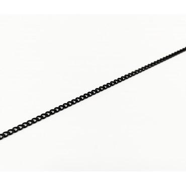 κολιέ ασήμι 925 ρόδιο σταυρός με λευκά ζιργκόν 17