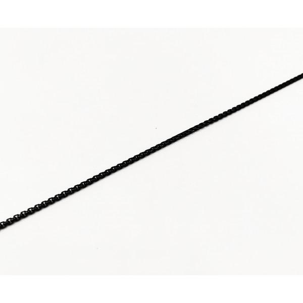 Αλυσίδα λαιμού σε μαύρο χρώμα από χειρουργικό ατσάλι