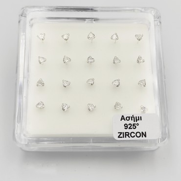 σκουλαρίκι piercing segment κρίκος από χειρουργικό ατσάλι χρυσό 1.2mm x 10mm 16