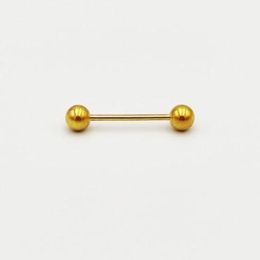 σκουλαρίκι piercing segment κρίκος από χειρουργικό ατσάλι 1.2mm x 12mm 13
