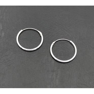 δαχτυλίδι από χειρουργικό ατσάλι με λευκά στρας 14