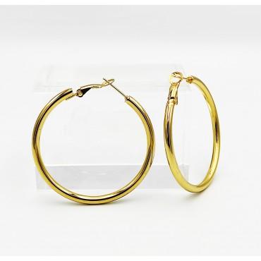 σκουλαρίκια από χειρουργικό ατσάλι ροζ χρυσό ήλιος με μαύρα στρασάκια 16