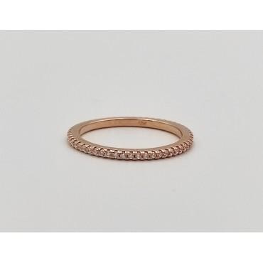 δαχτυλίδι ασήμι 925 καρδιά με λευκά και κόκκινο ζιργκόν 13