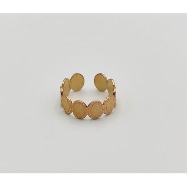βραχιόλι ποδιού χρυσό αλυσίδα από χειρουργικό ατσάλι 9
