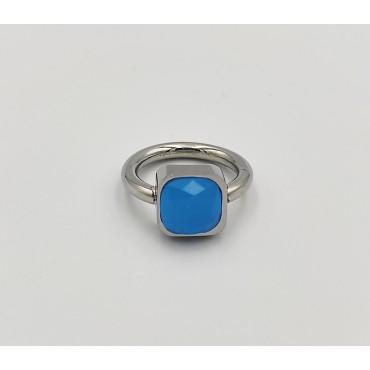 δαχτυλίδι ασήμι 925 μονόπετρο ρόδιο λευκά ζιργκόν 20