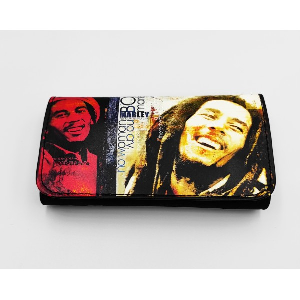 Θήκη καπνού μαύρη Bob Marley