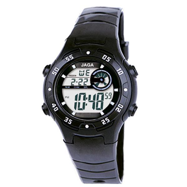 Ρολόι JAGA παιδικό ψηφιακό μαύρο
