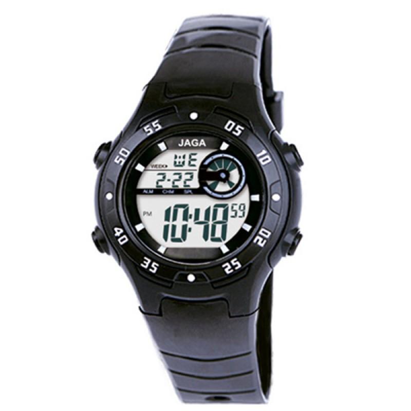 ρολόι jaga παιδικό ψηφιακό μαύρο 7