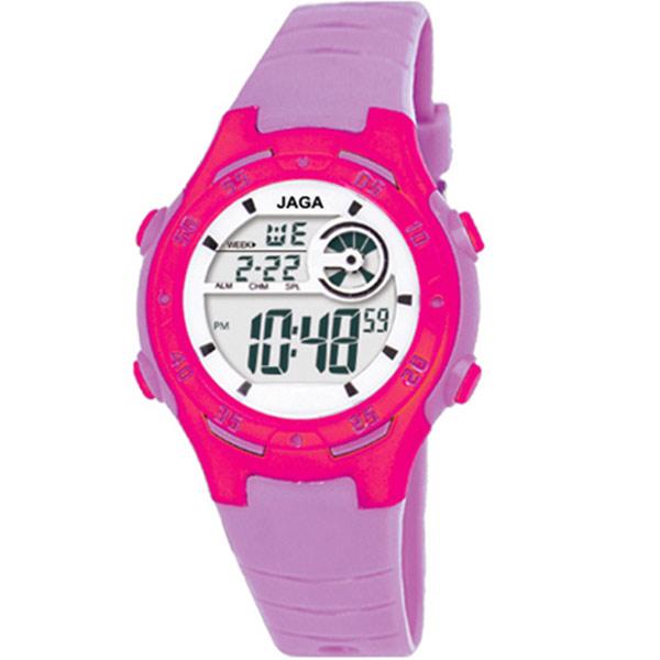 Ρολόι JAGA παιδικό ψηφιακό μωβ