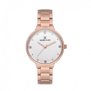 ρολόι daniel klein γυναικείο με μπρασελέ 12